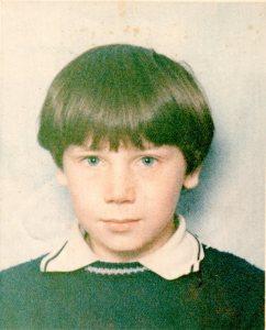 School photo (c. 1975)